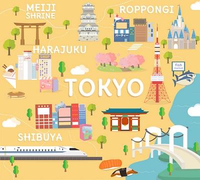 東京イメージ図