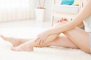 女性のキレイな足