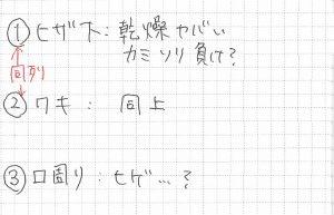 メモ書き2